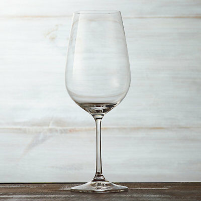 (D) Set of 6 Red Wine Glasses, Premium Quality Lead Free Crystal (S1011)