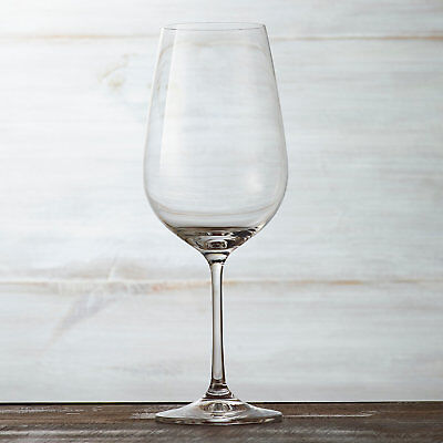 (DR) Set of 6 Red Wine Glasses, Premium Quality Lead Free Crystal (S1011)
