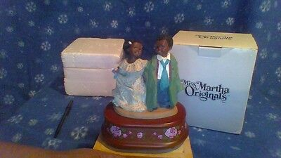 """All God's Children Music Box By Miss Martha Holcombe-Root """" Marcus & Nicole"""""""