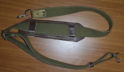 Original Russian RPK canvas sling with two fasterns and pad