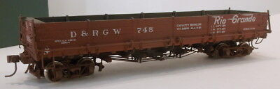 On3 RTR BLW DENVER & RIO GRANDE WESTERN DROP BOTTOM GON #745 FACTORY PAINTED NEW