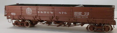 On3 RTR BLW DENVER & RIO GRANDE WESTERN DROP BOTTOM GON #878 FACTORY PAINTED NEW