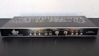 DBX 200 Program Route Selector (Professionally Serviced)