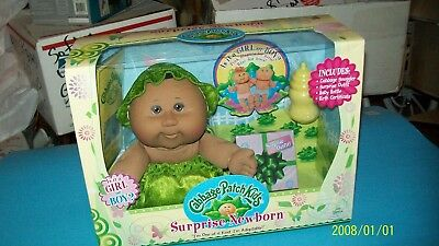 Cabbage Patch Kid Doll Jac Pacific Suprize Newborn