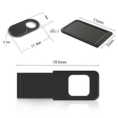 1PC Webcam Camera Protector Cover Shield For PC Tablet  Laptop Smartphone Round