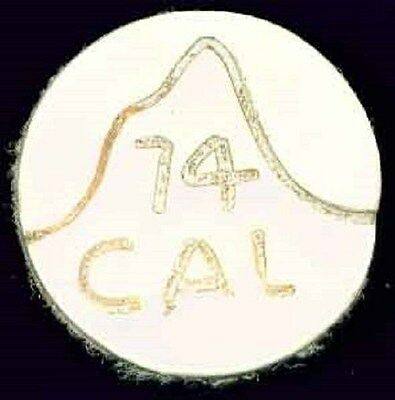 CAL 74 round leather patch