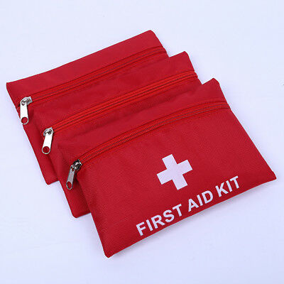 1pc Outdoor Hiking Camping Survival Travel Emergency First Aid Kit Rescue Bag