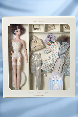 2002 Continental Holiday Giftset #55497 Fashion Model SilkstoneTissue Wrapped