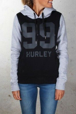 New Arrival**Hurley**Ladies  99 Pop Fleece Pullover Hoodie Sweatshirt Size XS-L