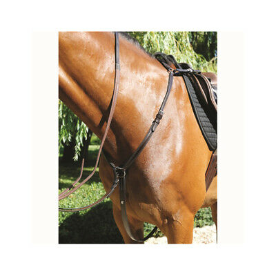 Mark Todd Padded Soft Supple Leather Horse Breastplate