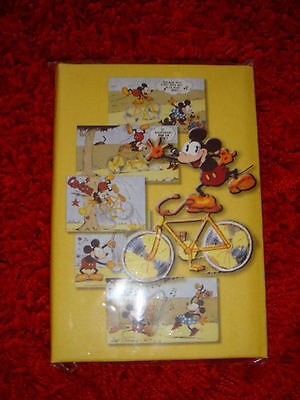 CARNET D'ADRESSE + BLOC NOTE - MICKEY CARTOON - avis aux collectionneurs !
