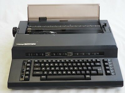 Vintage Message Concept 12 Electric Typewriter Made In Japan