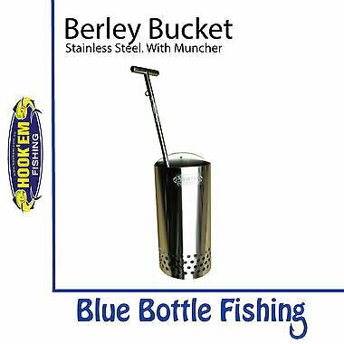 NEW Hookem Berley Bucket with Muncher Combo from Blue Bottle Fishing