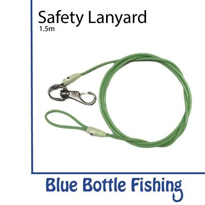 NEW Fishing Reel Safety Lanyard 1.5 m from Blue Bottle Fishing