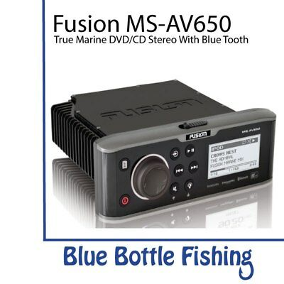 Fusion MS-AV650 Marine Entertainment System with DVD/CD Player