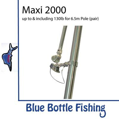 NEW Reelax - Outrigger Base - Maxi 2000 (Pair) from Blue Bottle Fishing