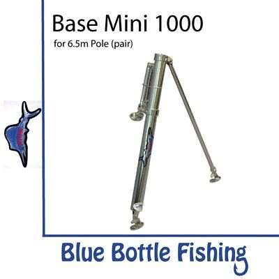 NEW Reelax - Outrigger Base - Mini 1000 (Pair) from Blue Bottle Fishing