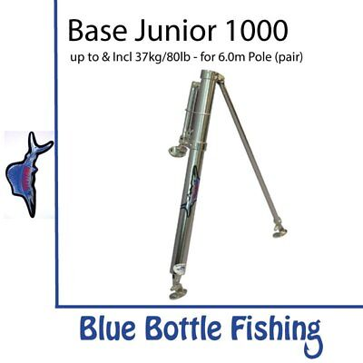 NEW Reelax - Outrigger Base - Junior 1000 (Pair) from Blue Bottle Fishing