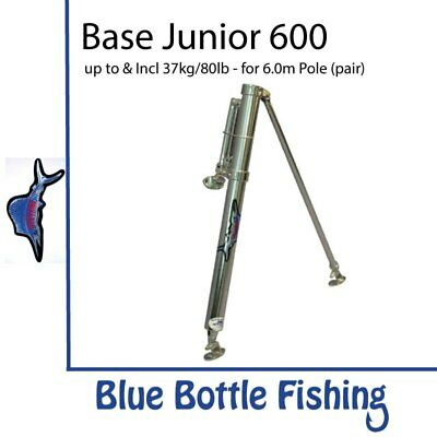 NEW Reelax - Outrigger Base - Junior 600 (Pair) from Blue Bottle Marine
