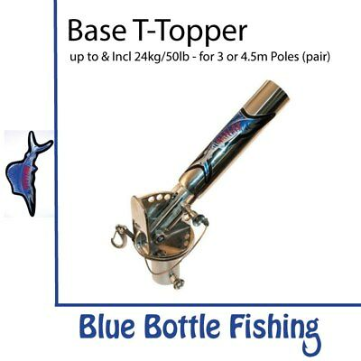 NEW Reelax - Outrigger Base - T Topper (Pair) from Blue Bottle Marine