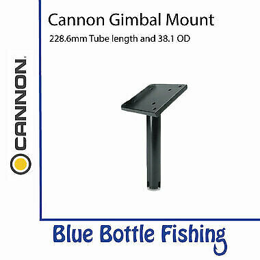 NEW Cannon Downrigger Gimbal Mount 228mm Tube from Blue Bottle Fishing