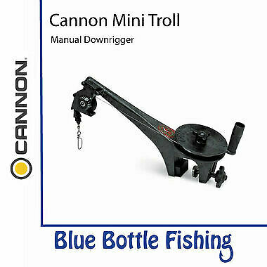 NEW Cannon Mini Troll Manual Downrigger from Blue Bottle Fishing