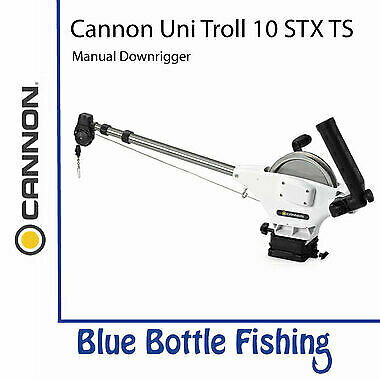 NEW Cannon Uni Troll 10 STX TS Metric Manual Downrigger from Blue Bottle Fishing