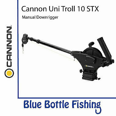 NEW Cannon Uni Troll 10 STX Metric Manual Downrigger from Blue Bottle Fishing
