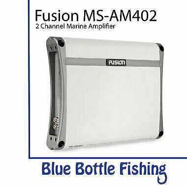 NEW Fusion MS-AM402 2 Channel Marine Amplifier from Blue Bottle Marine