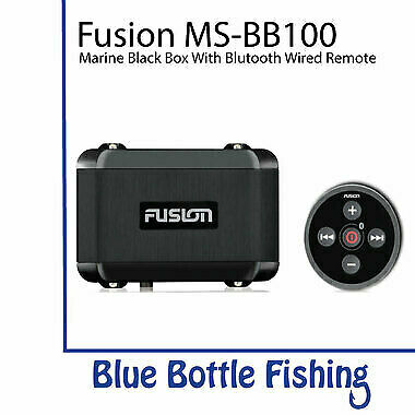 Fusion MS-BB100 Marine Black Box with Bluetooth Wired Remote