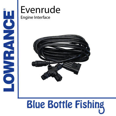 NEW Evinrude Engine Interface for Lowrance / SIMRAD from Blue Bottle Fishing