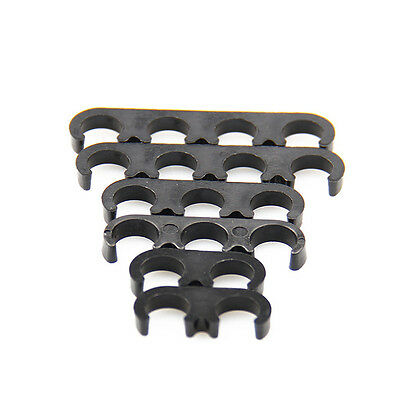 6Pcs Plastic 7mm 8mm Spark Plug Wire Separators Dividers Looms For Chevy Ford