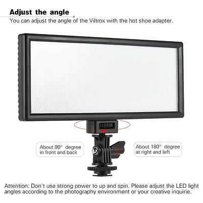 Viltrox Pro Ultrathin LED Video Light Photography Fill Light 5600K for DSLR P8P5