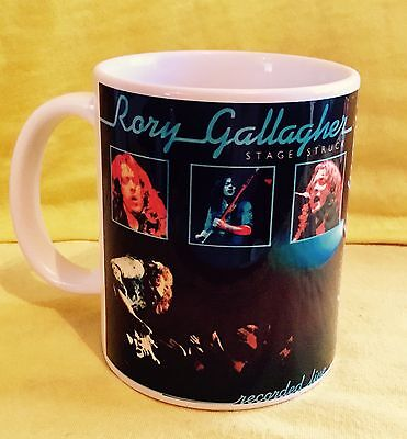 Rory Gallagher Stage Struck 1980-Album Cover-On A  Mug