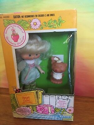 Vintage Strawberry Shortcake Angel Cake And Soufflé Pet New In Box 🍓
