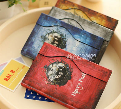4 COLOR Travel Notebook Journal Books Vintage Harry Potter Diary