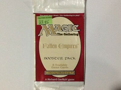 Magic The Gathering - Fallen Empires - Booster Pack - 8 Cards - Deckmaster
