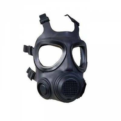 NEW Forsheda Swedish Civil Defence Gas Mask NBC Respirator Military & NEW Filter
