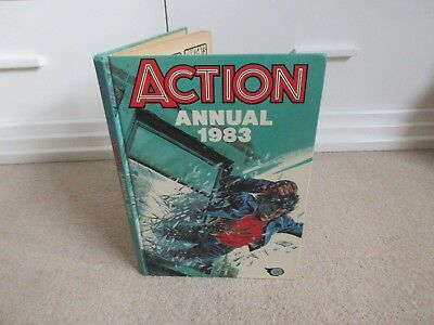 Action Annual 1983  - Unclipped - Vgc