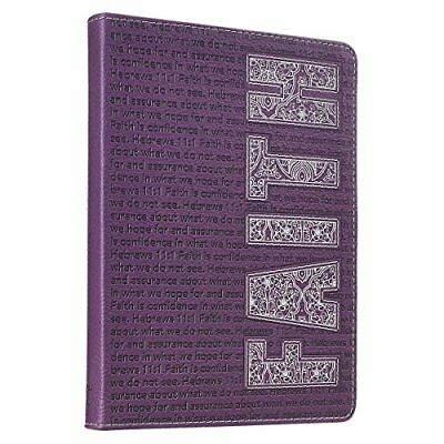 Bible Journal Notebook Leather Diary Notepad Prayer Scripture Daily Devotion Fai