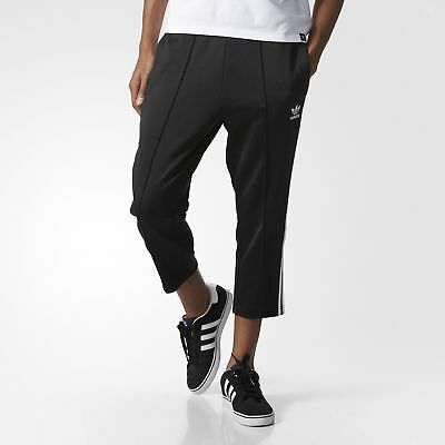 adidas Superstar Relaxed Cropped Track Pants Men's Black