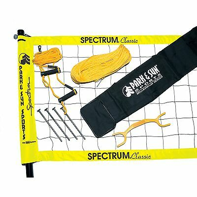Park & Sun TS-CL Spectrum Classic Volleyball Set Yellow Net