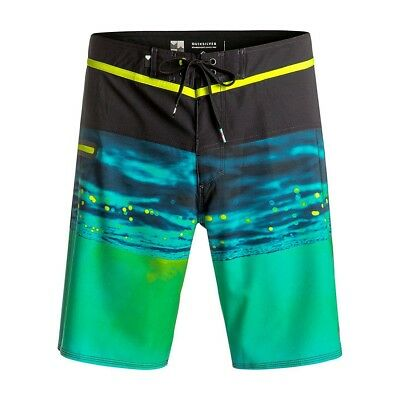 "Short de Bain Hold Down Vee 16"" Safety Yellow Jr - Quiksilver"
