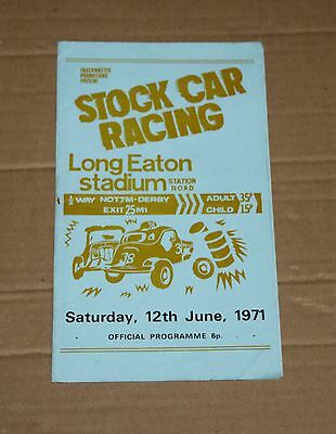 1971 Long Eaton Brisca F1 stock car programme, 12 June