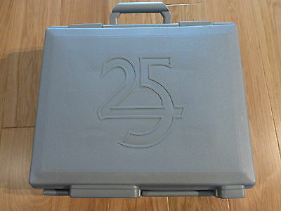 GW Warhammer 25th Anniversary Figure Case + Dice Tins + Harry the Hammer Sealed!