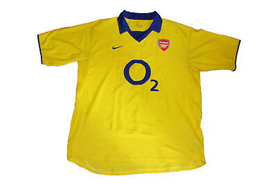 Arsenal 2003/2005 Away Home Authentic Vintage Soccer/football Jersey. Large