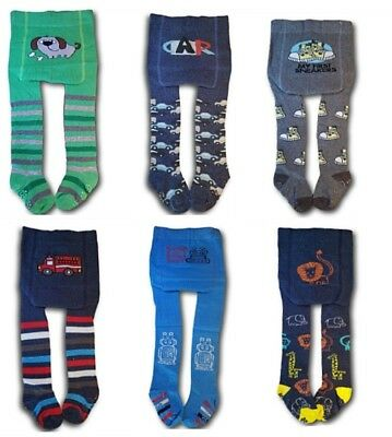 Boys Toddler Cotton ABS Tights Anti slip Socks Pants Warmers  12 Months-3 Years