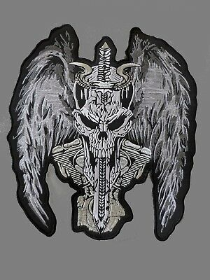 The Devils Biker patch 30 cm