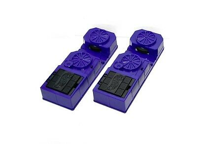 Lot Of Two Hot Wheels Car Launchers Spinner Machines Purple 1996 Booster