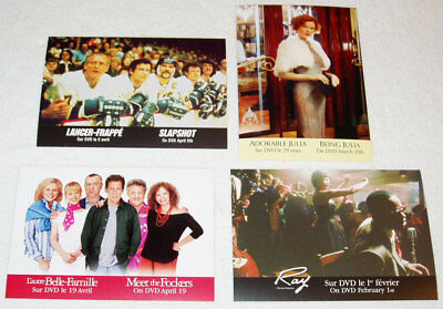 SLAPSHOT Fockers FIELD OF DREAMS etc. lot of 8 Universal DVD promo cards Canada